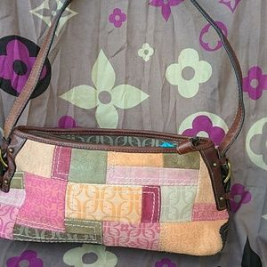 Fossil Multi Color Bag.